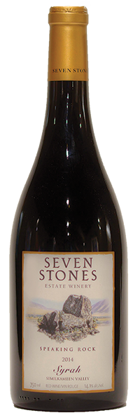 Speaking Rock 2015 Syrah Product Image